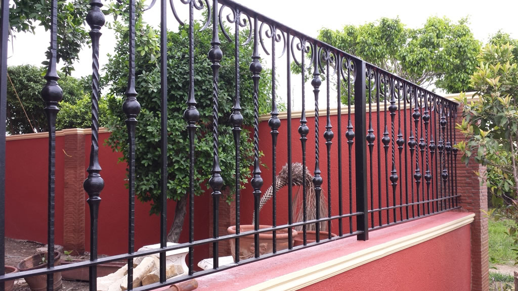 Wought Iron Grills Gates, Fences, Balcony Railing.