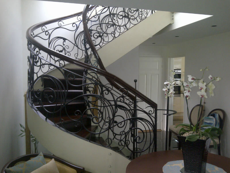 Spiral Stair Cavitetrail Glass Railings Philippines
