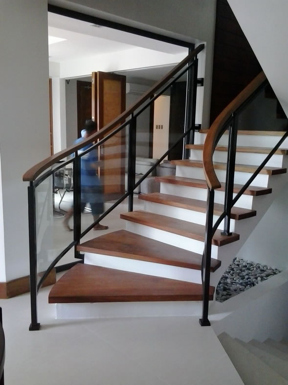 glass stair railing cavitetrail glass railings